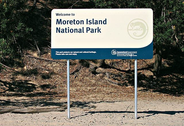 welcome to moreton island